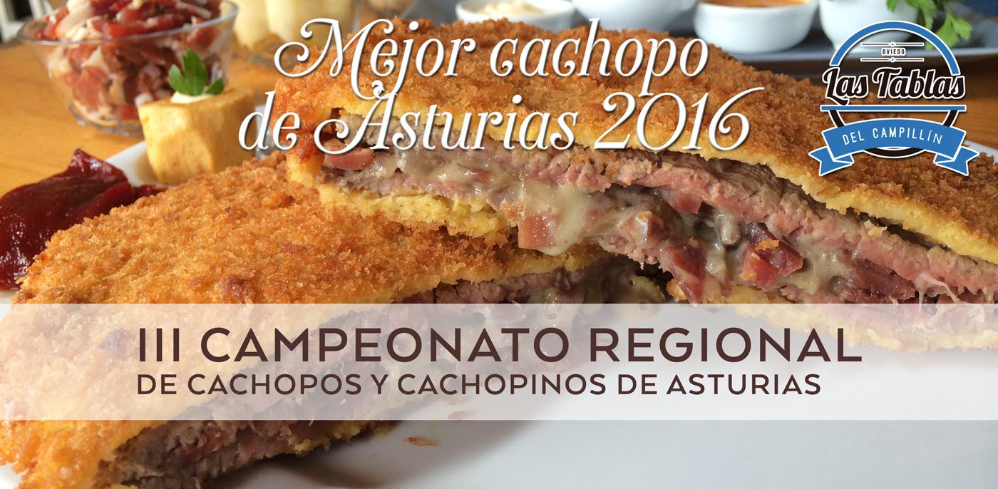 Premio mejor cachopo de asturias 2016 para las tablas del campillín