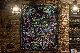 Carta interior las tablas del campillín, Oviedo restaurante