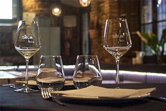 Interior de Las Tablas del Campillín, Oviedo Restaurante
