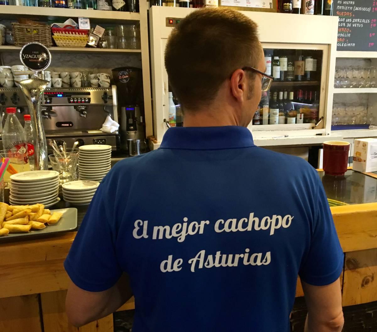 Cachopo asturiano en Las Tablas del Campillín