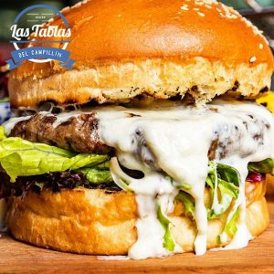 burger supreme jamon hot