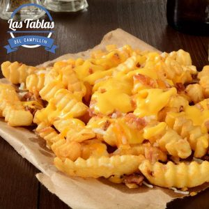patatas fritas beicon queso