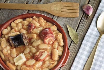 plato tradicional asturiano fabada