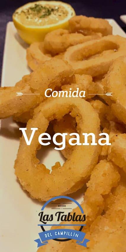comida vegana en Oviedo Las Tablas del Campillín